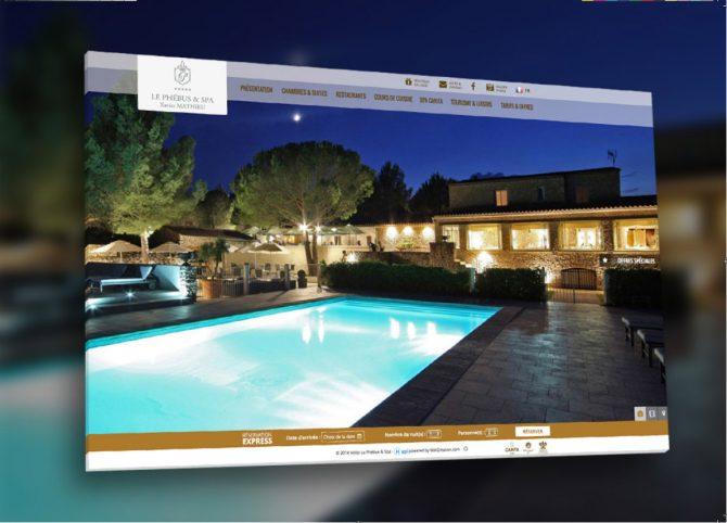 Webdesign sites hôtels