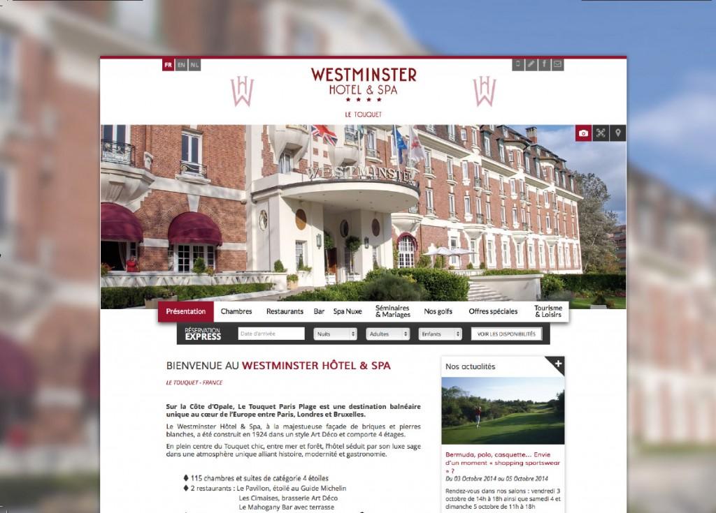 webdesign hotels