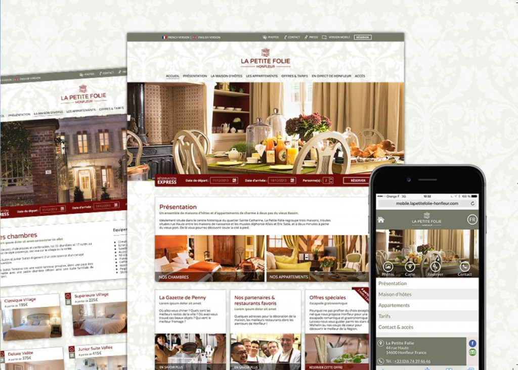 webdesign sites hotels