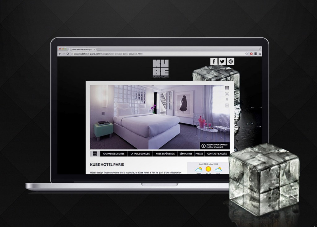 site hotel webdesigns
