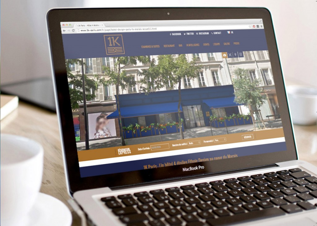sites internet hotel  webdesign