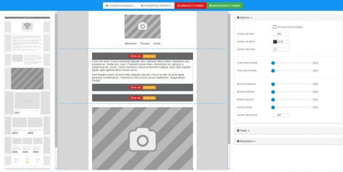 Editez, gérez et envoyez vos emailing en toute autonomie!